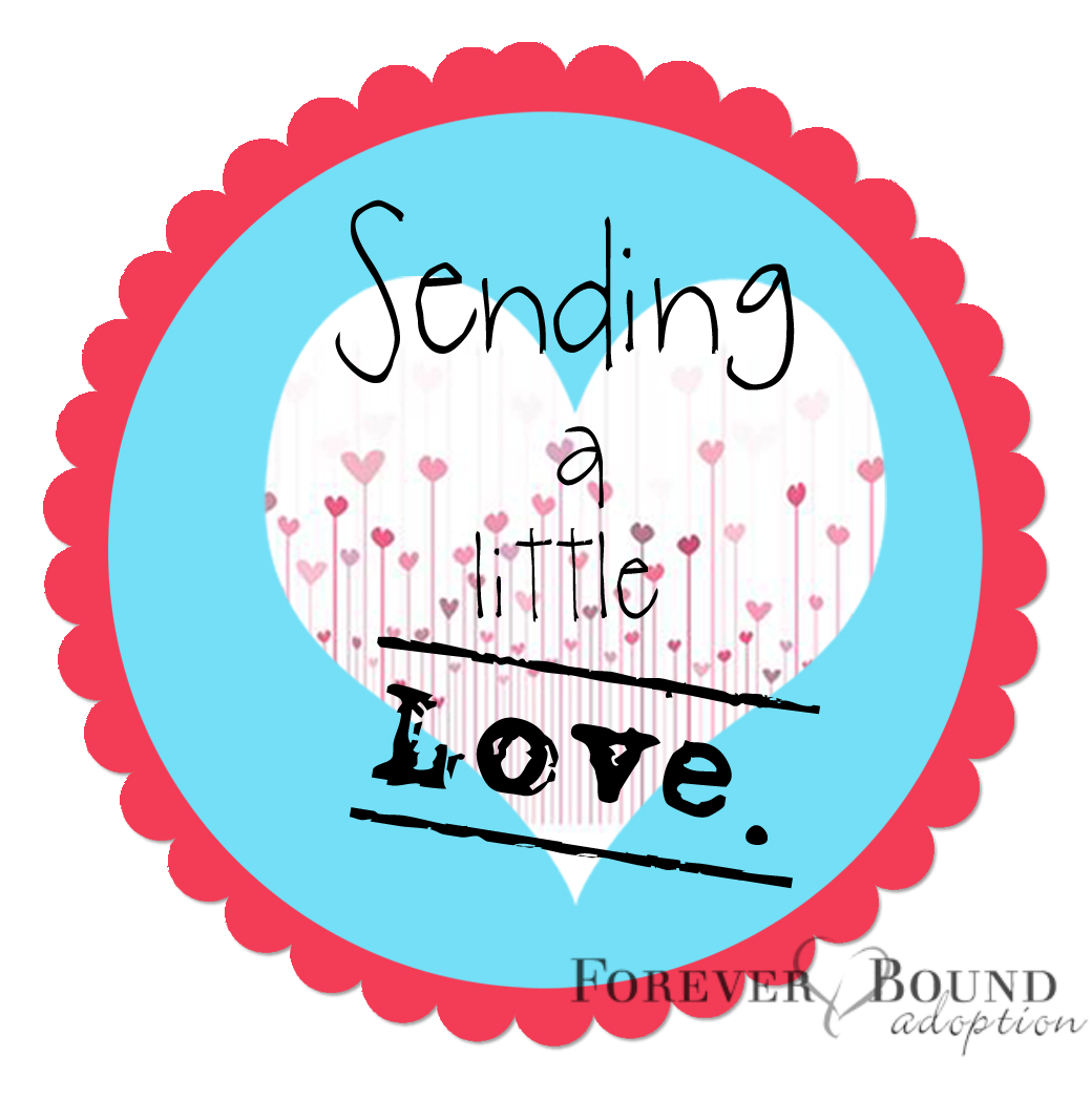 Sending a little love stamped