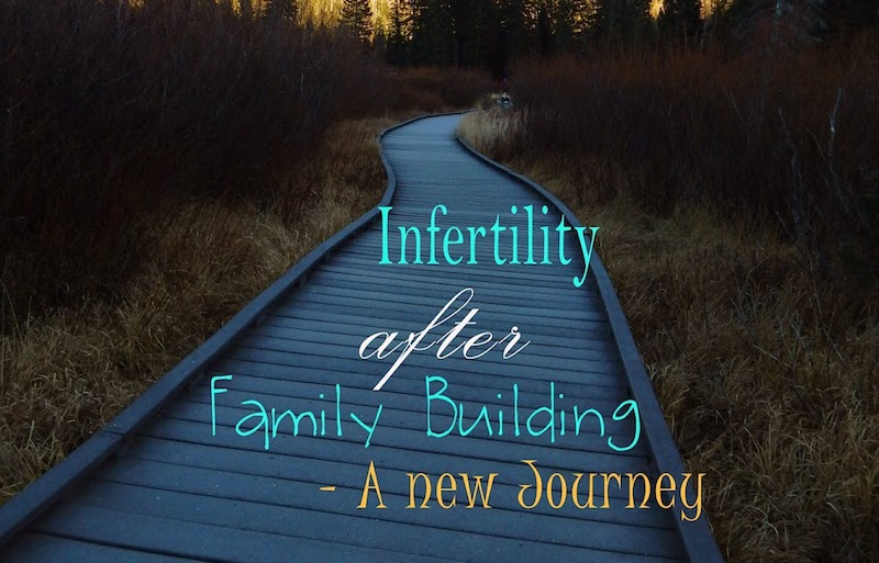 Infertility after family building stamped