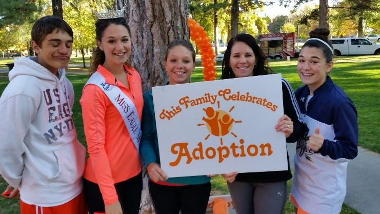 This Family Celebrates Adoption